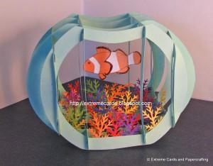 Sliceform Fish Bowl
