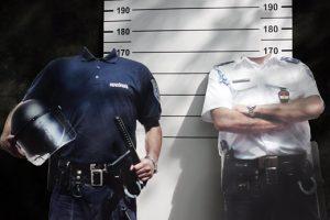 fej nélküli rendőr