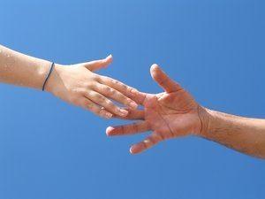 segítségnyújtó kéz