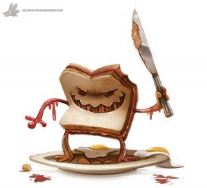 day_793__evil_sandwich_by_cryptid_creations-d8f06xs
